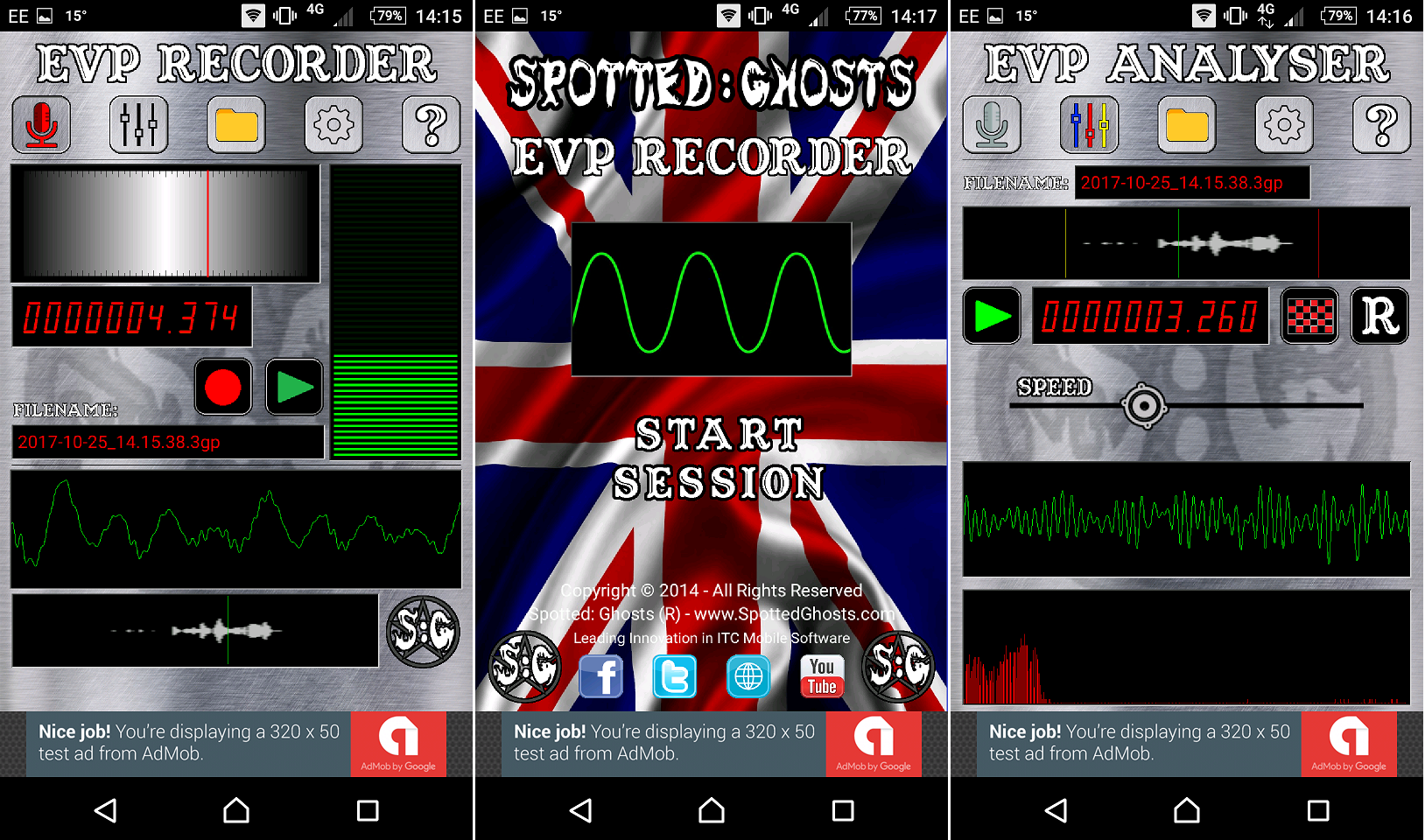 Spotted: Ghosts :: EVP RECORDER