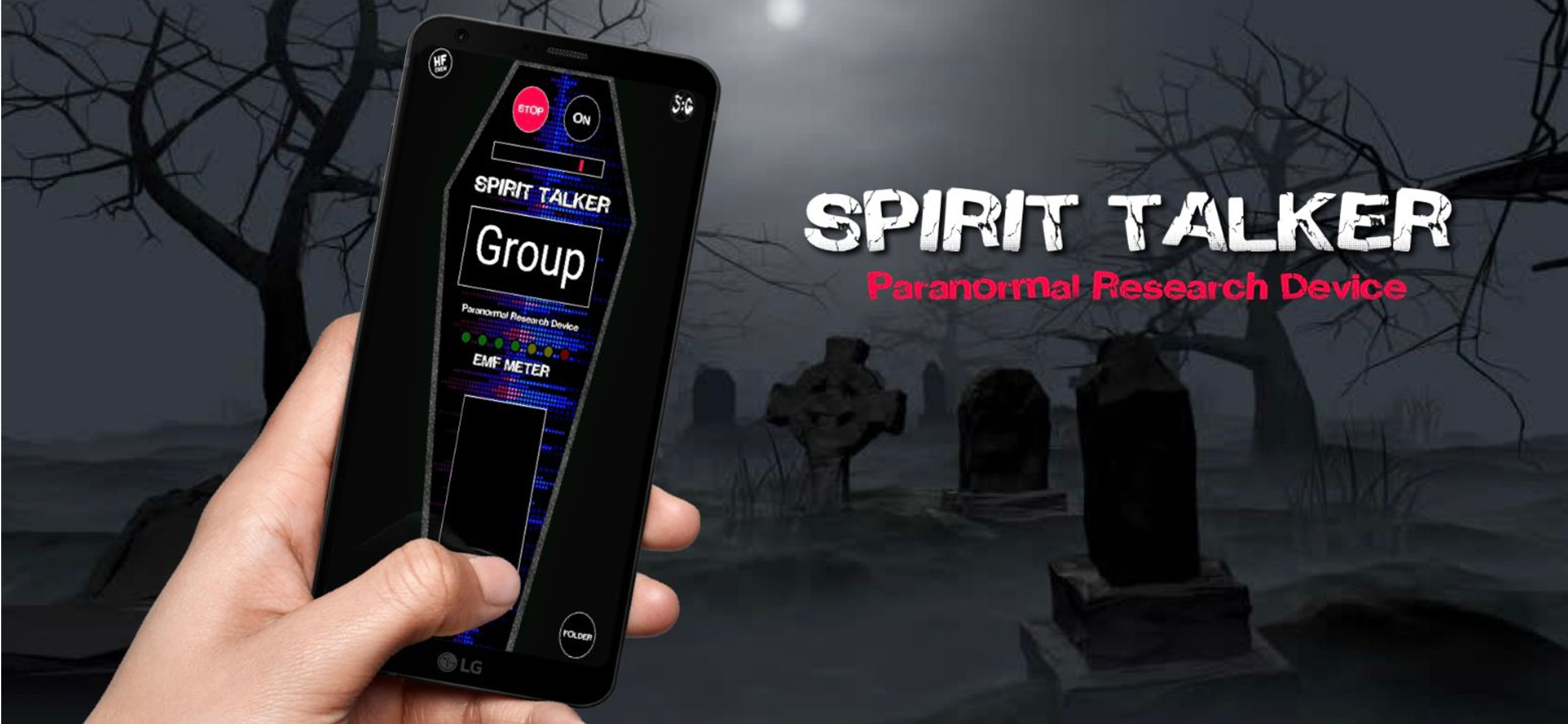 Spirit Talker - Haunted Finders and Spotted: Ghosts